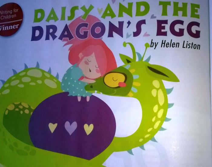 Daisy and the Dragon's Egg… In print & judge's comments